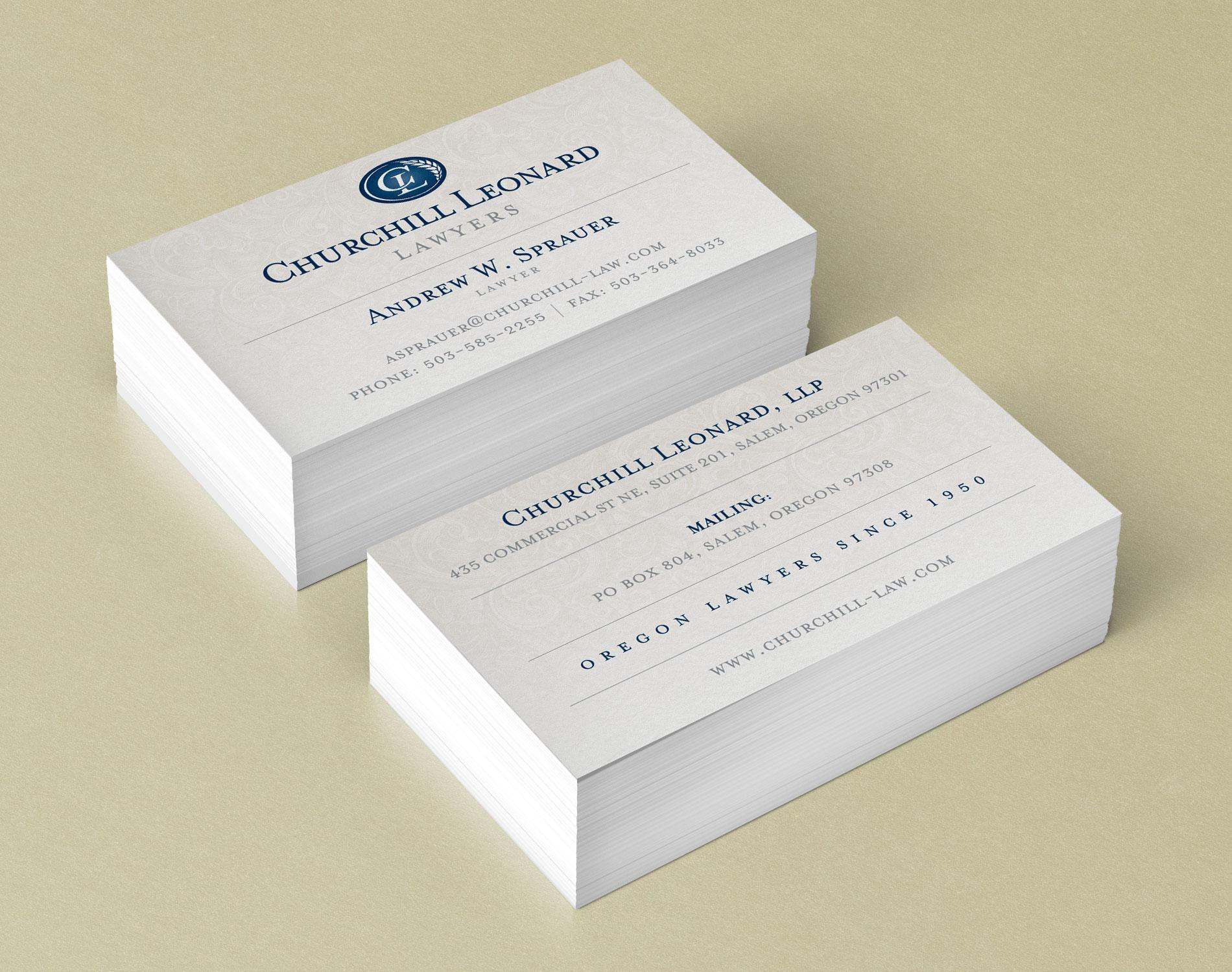 Churchill Leonard Lawyers - DesignPoint, Inc.