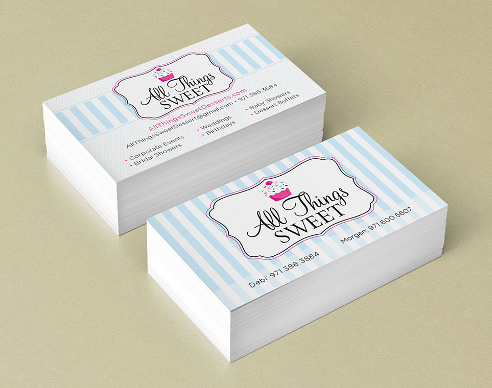 Roofing Salem Oregon Business Cards - DesignPoint, Inc.
