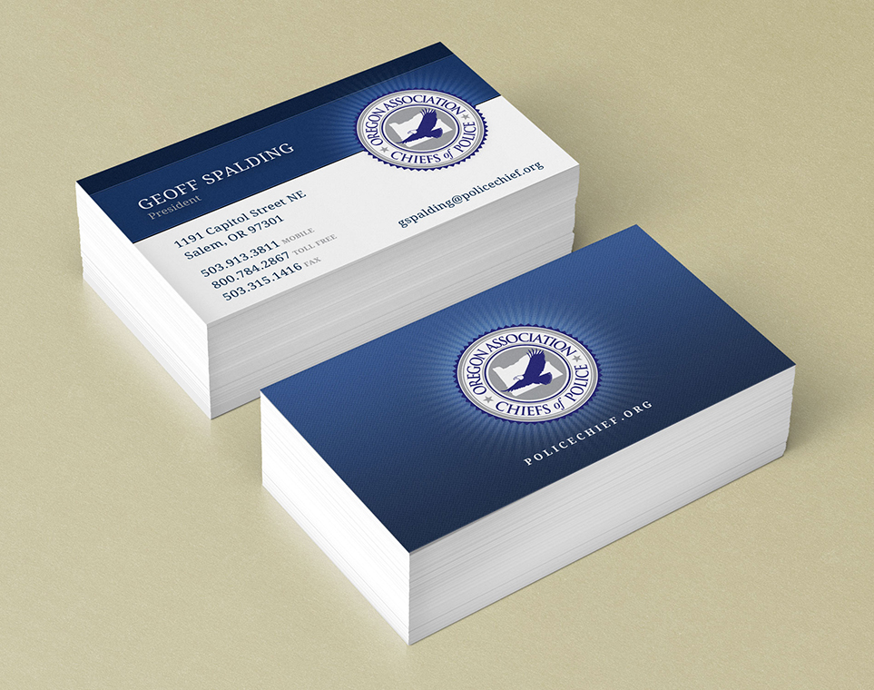 Business cards designpoint inc oregon association chiefs of police colourmoves