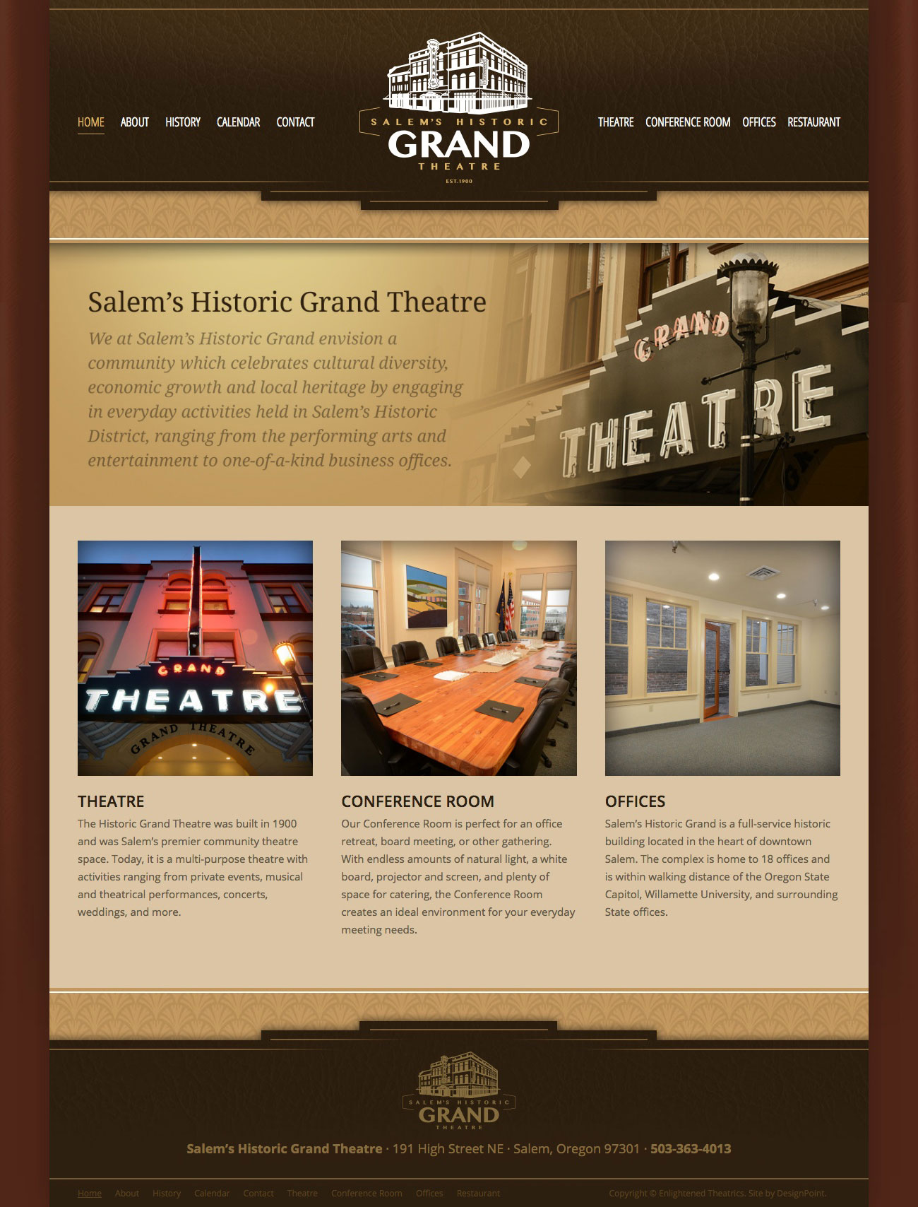 salem s historic grand theatre designpoint inc